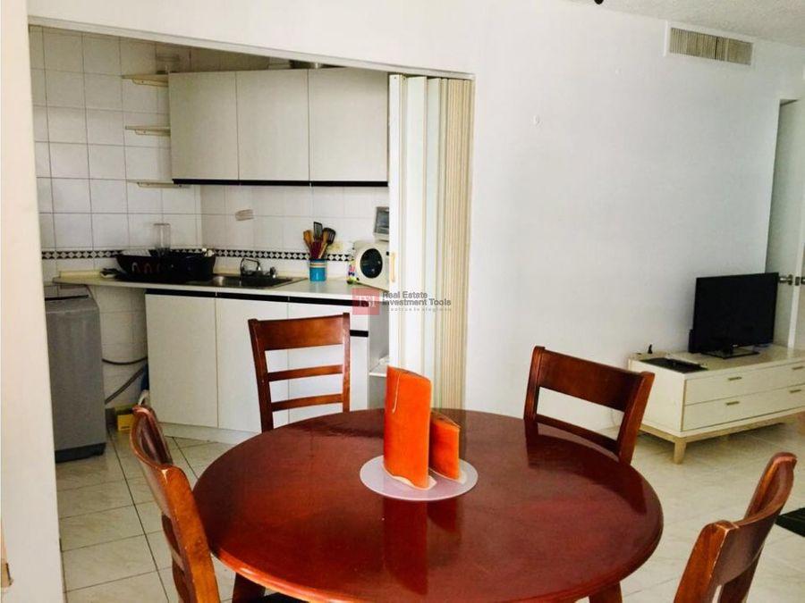 alquilo apartamento 1 rec amoblado el cangrejo