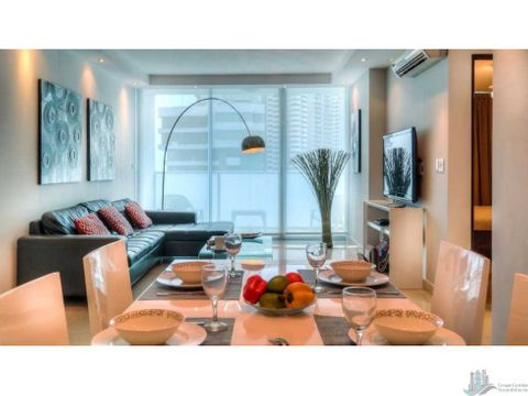 alquilo apartamento amoblado en el ph pacific sky punta paitilla 2rec