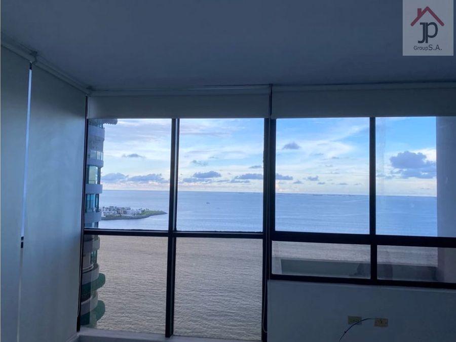alquilo apartamento en punta paitilla frente al mar