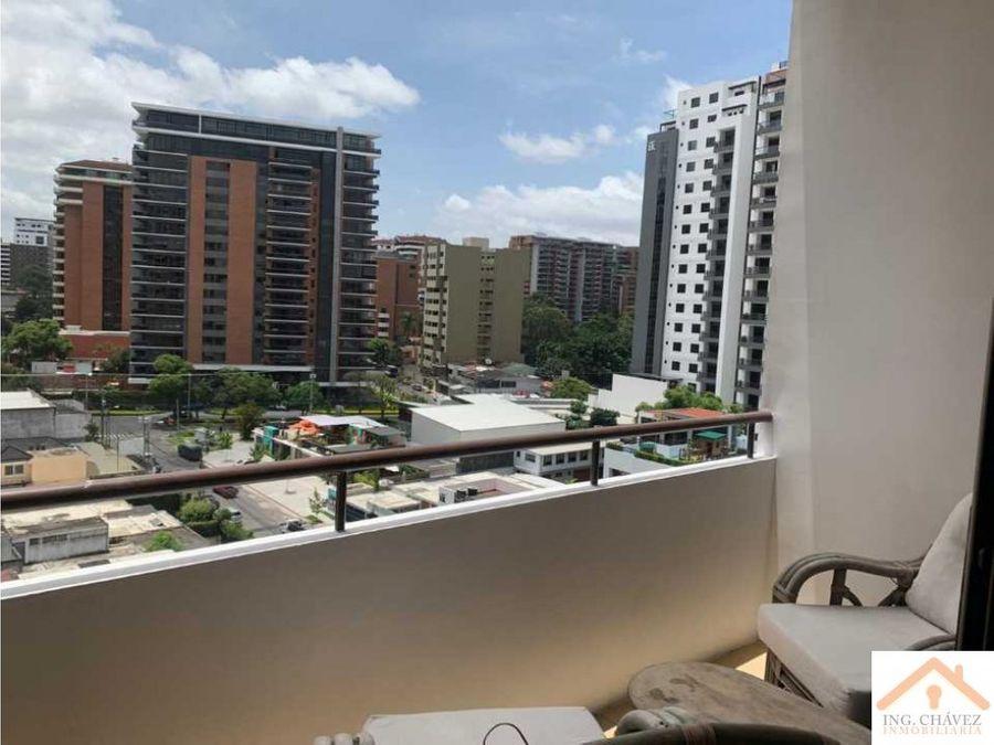 alquilo apartamento en torre quattro zona 14