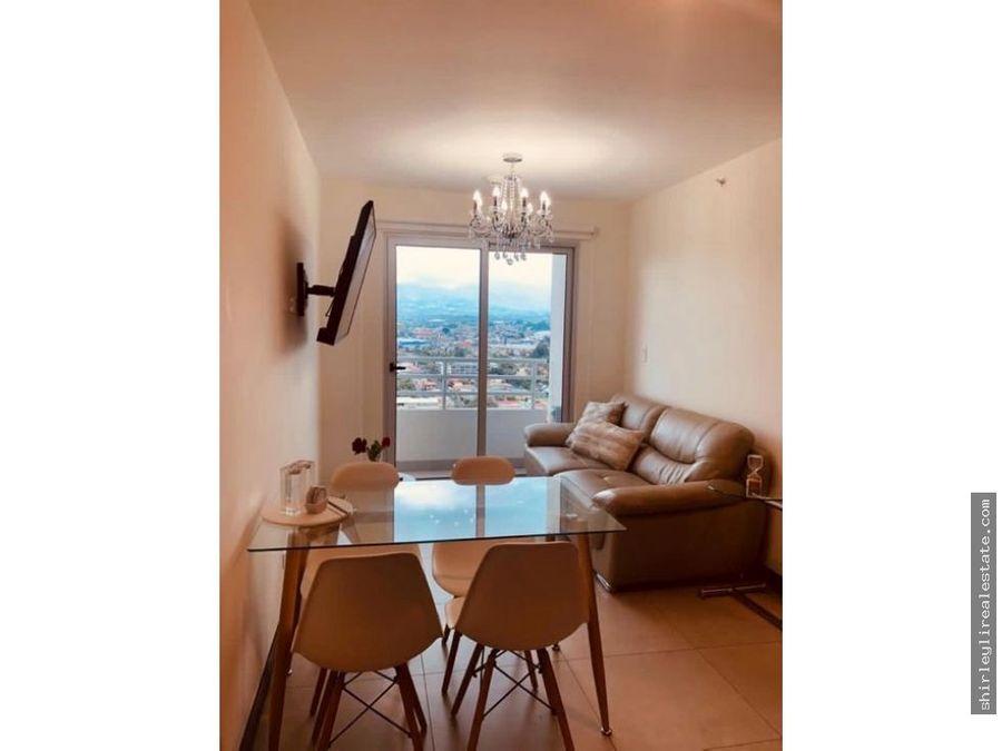 alquilo apartamento totalmente amueblado torre yoses