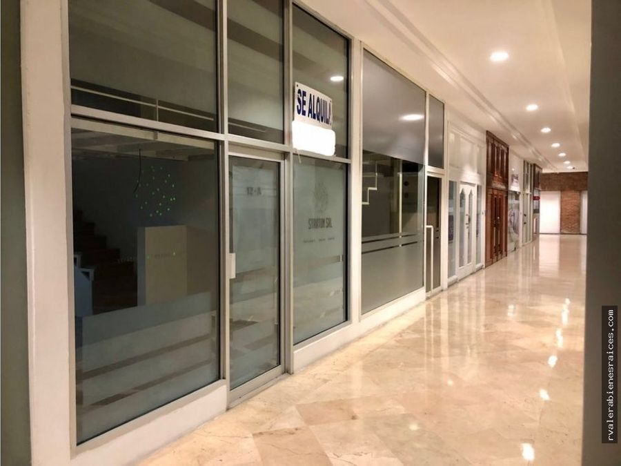 alquilo espacio o local comercial en ave lincoln