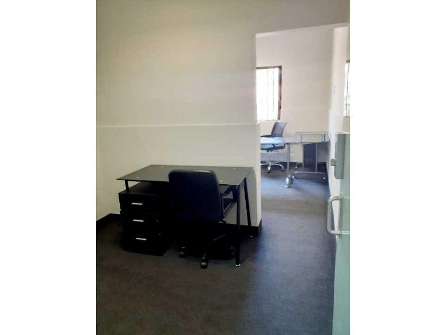alquilo excelentes oficinas amobladas co working
