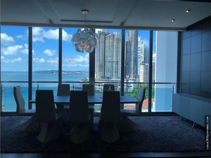 alquilo hermoso apartamento de lujo ph aqualina