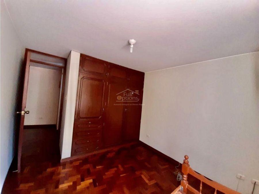 alquiler o venta departamento amoblado en yanahuara