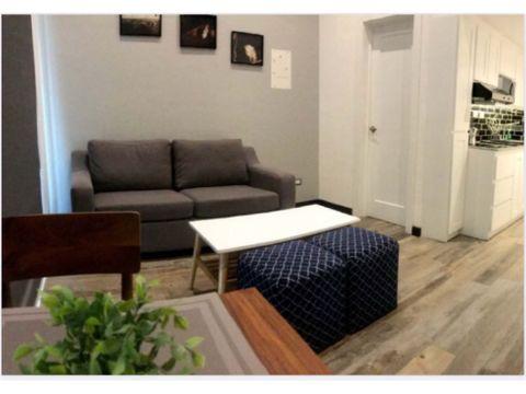 alquiler apartamento amueblado zona 15