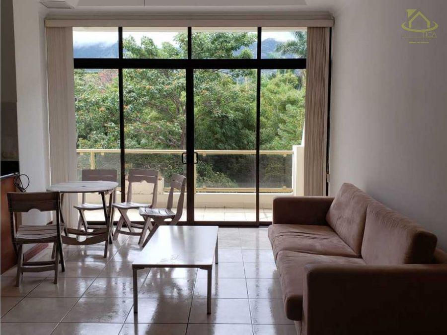 alquiler apartamento en riverside escazu full amoblado 1750