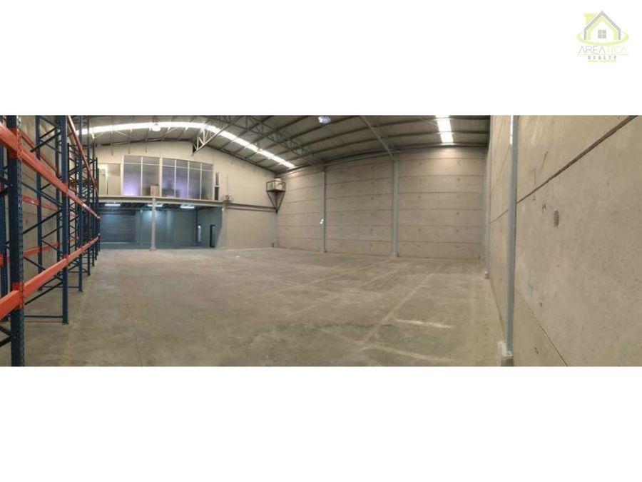 alquiler bodega en barreal 450 m2 2500