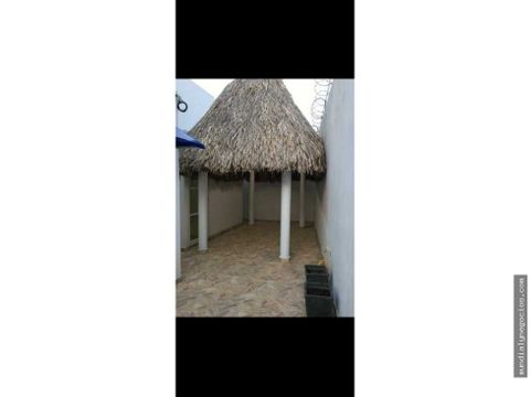 alquiler casa cerca al mar con piscina y kiosco en salgar