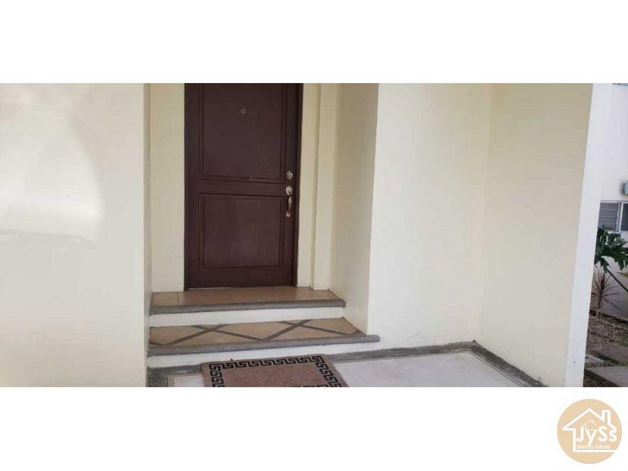alquiler casa en condo san pablo1100