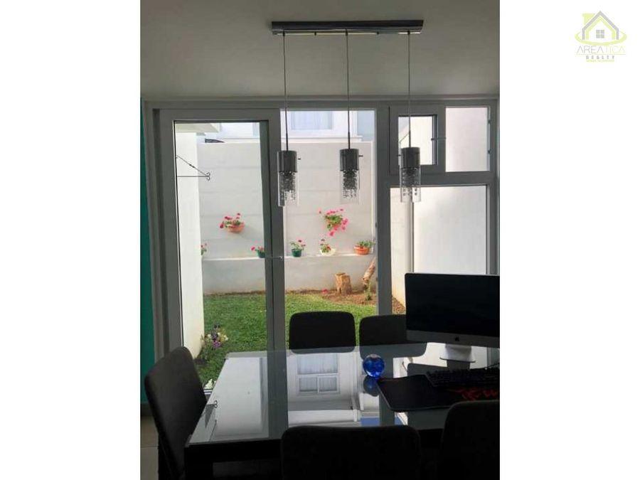 alquiler casa en condominio quarzo lagunilla 900
