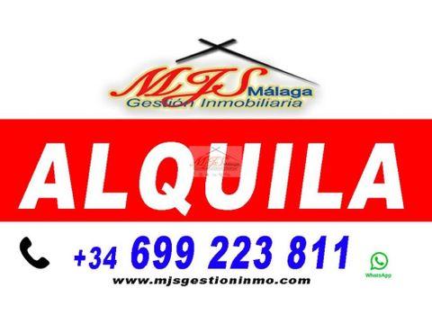 alquiler centro malaga