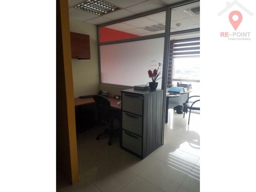 alquiler de oficina amoblada en city office