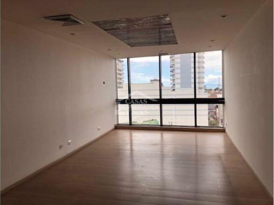 alquiler de oficina en torre mercedes 5345 m2