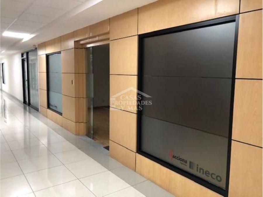 alquiler de oficina en torre mercedes piso 9 area 6217 m2