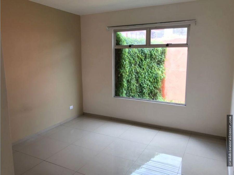 alquiler de apartamento contemporaneo en curridabat