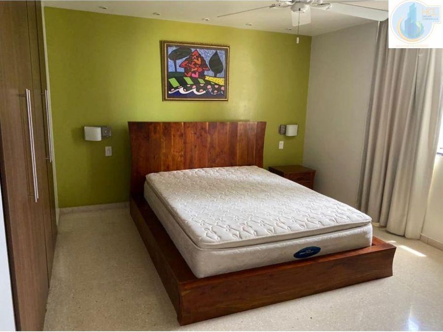 alquiler de apartamento en obarrio amoblado mb