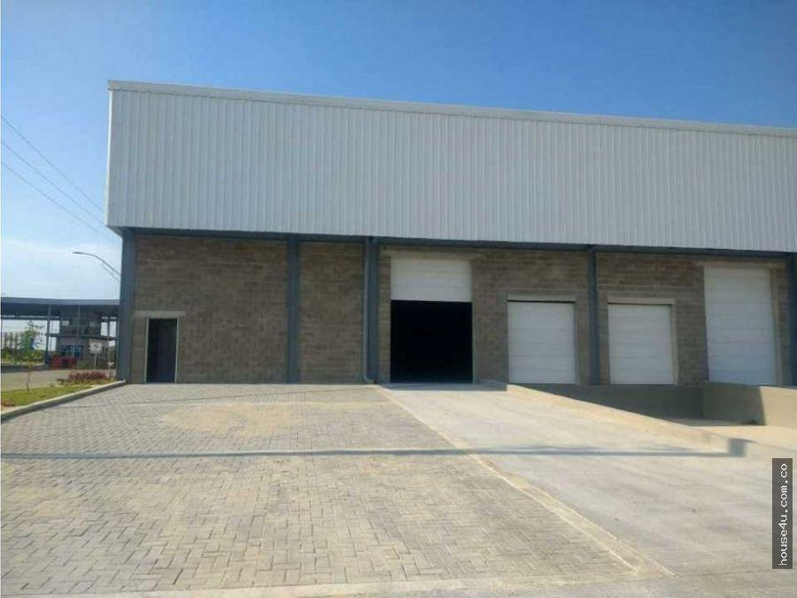 alquiler de bodegas parque industrial en barranquilla