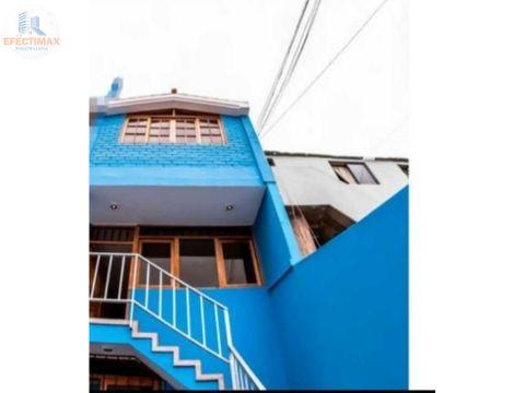 alquiler de casa en distrito de san miguel
