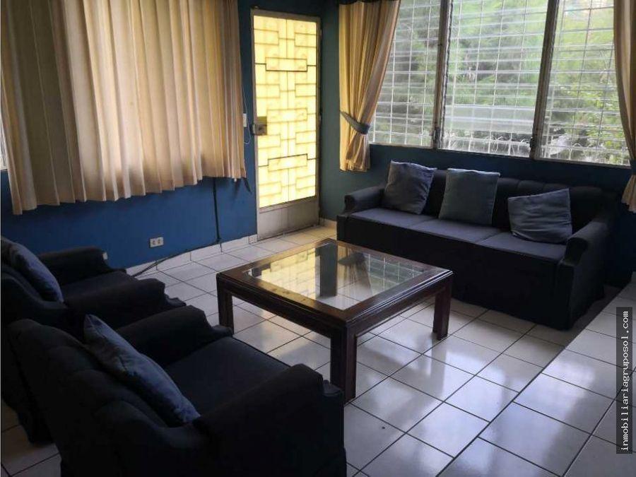 alquiler de la apartamento amueblado col escalon