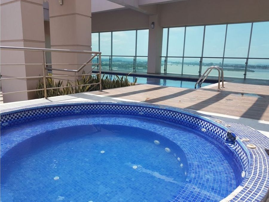 alquiler de suite en edificio river front puerto santa ana