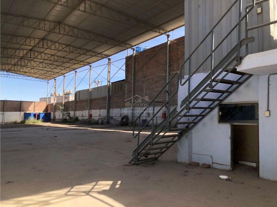 alquiler de almacen industrial 1200m2