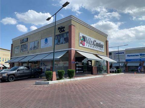 alquiler local comercial en cc mix center via a la aurora