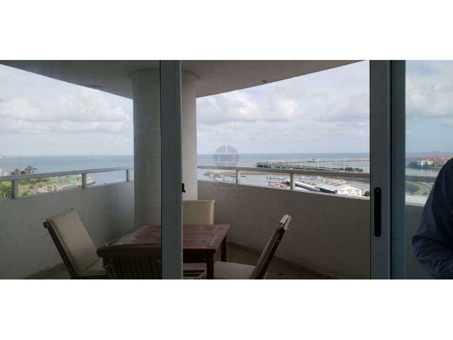 alquiler ph bay view 3rec av balboa amoblado