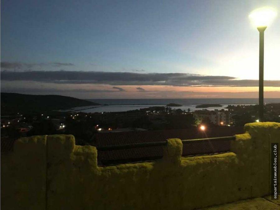 alquiler r terrazas del mar pampatar vista al mar