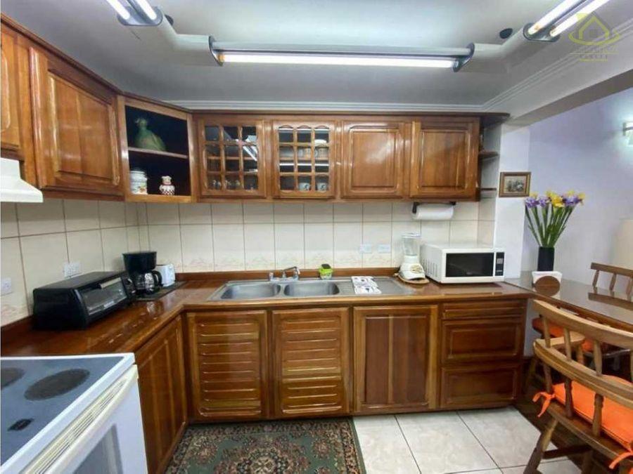 alquiler villas cariari full amoblado 1150
