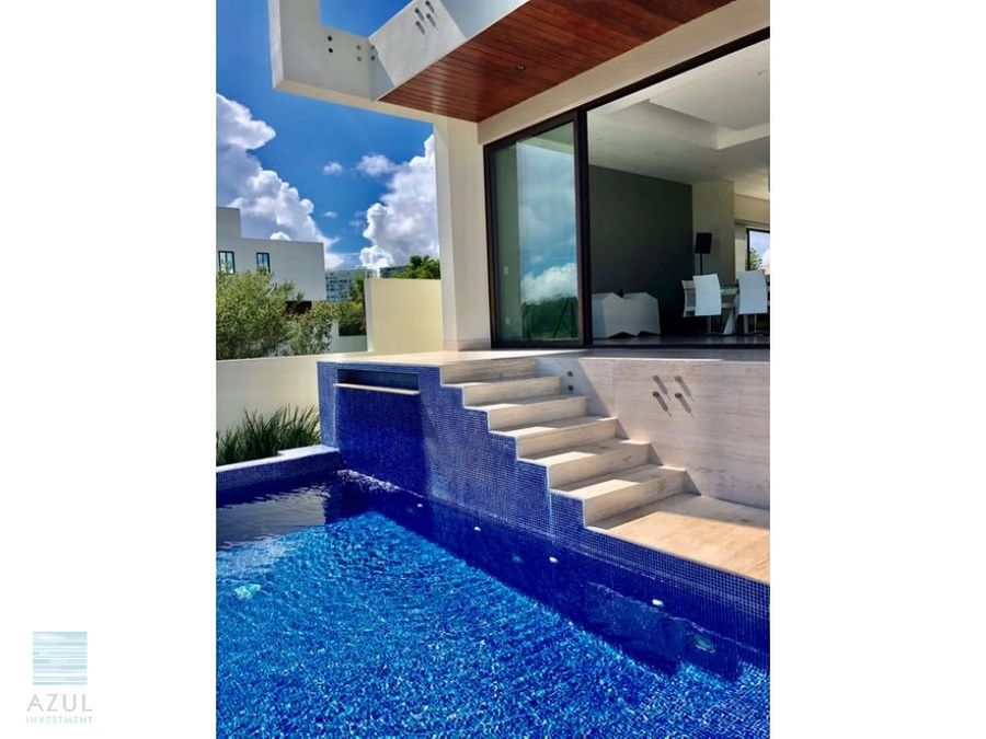 amazing luxury private house for sale in puerto cancun