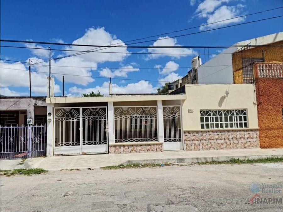 amplia casa en col centro merida yucatan