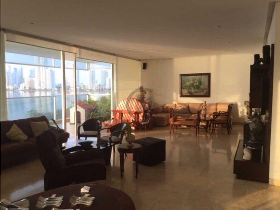 amplio apartamento con vista panoramica bocagrande