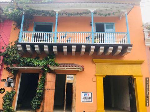 amplio local comercial para arrendar centro historico de cartagena ay