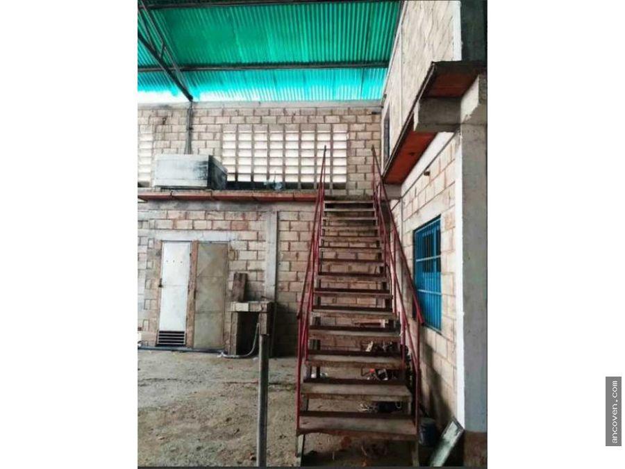 ancoven master vende galpon industrial en yagua estado carabobo