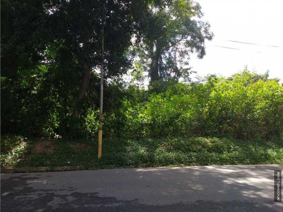 ancoven master vende terreno en urbanizacion colinas de guataparo