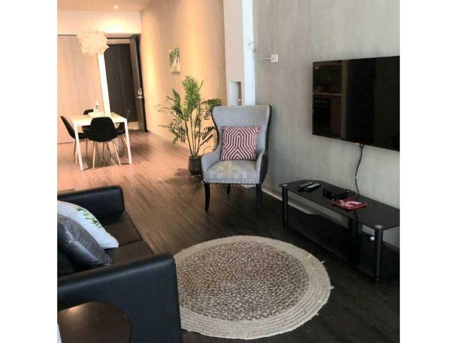 apartamento moderno totalmente amueblado en santa ana