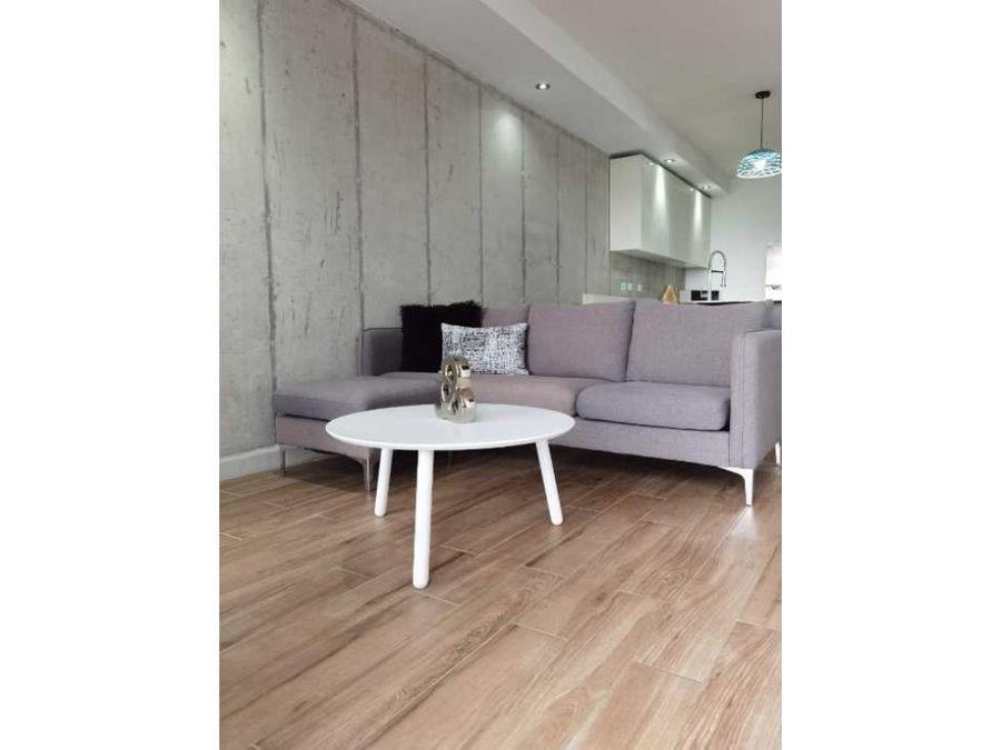 apartamento moderno minimalista en pozos de santa ana