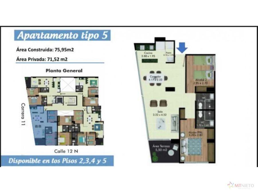 estrenar apartamento de 759 m2 de 2 alcobas la castellana