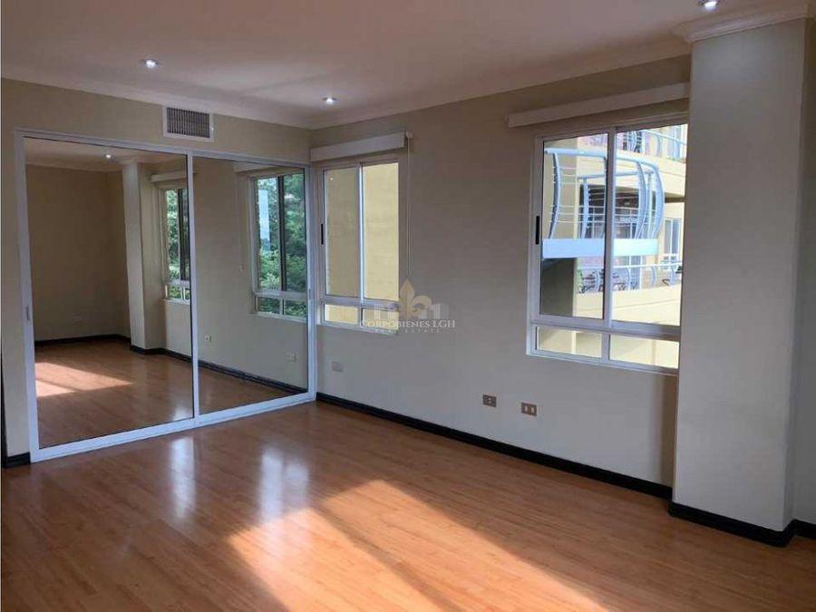apartamento acogedor y amplio en escazu
