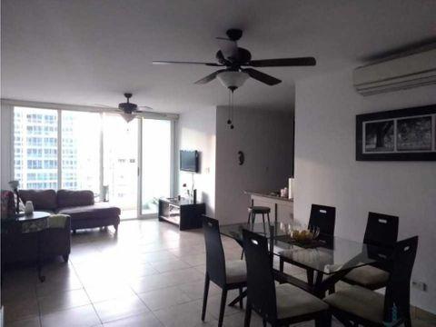 apartamento amoblado el cangrejo 3 recamaras y balcon
