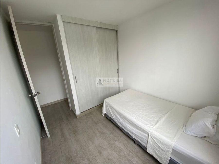 apartamento amoblado en arriendo en conjunto en bochalema cali