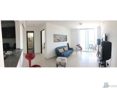 apartamento amoblado en edison park 2 recamaras venta