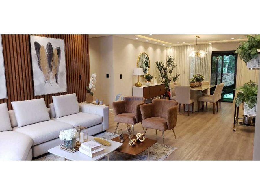 apartamento amoblado en embassy villageamplia terraza