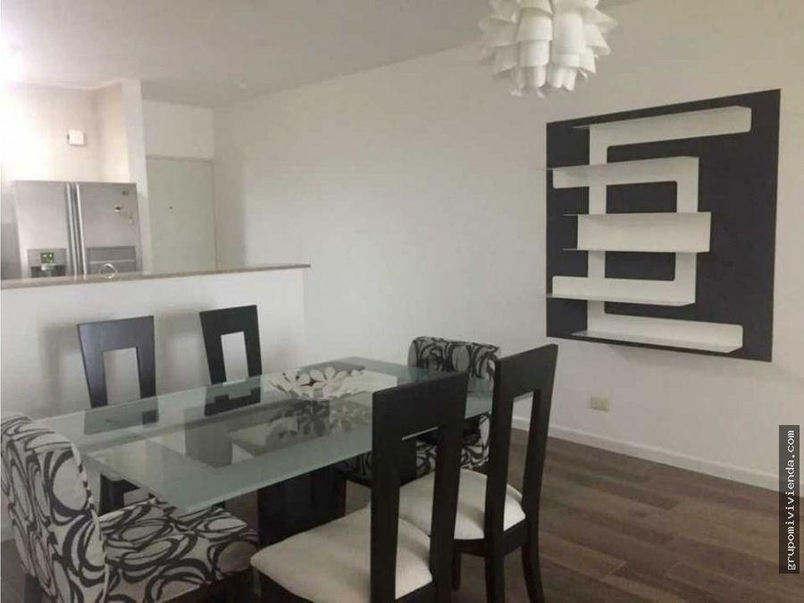 apartamento amoblado en punta pacifica alquiler