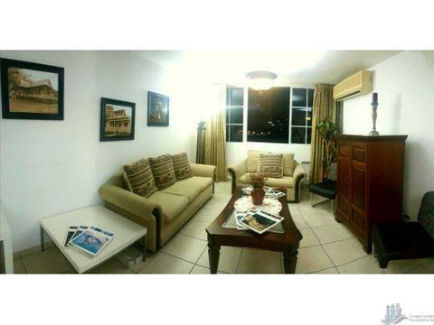 apartamento amoblado en san francisco 2 rec 2 banos