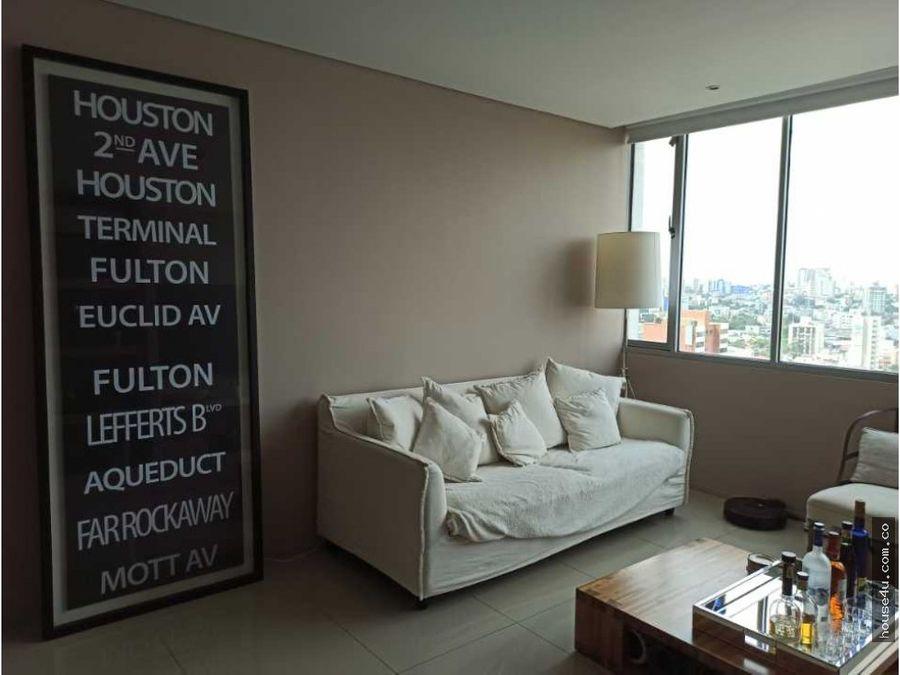apartamento amoblado en venta en el prado