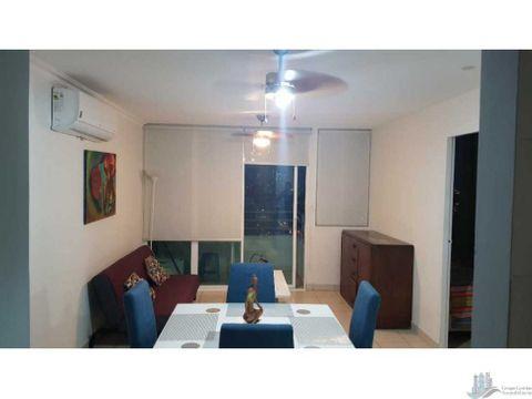 apartamento amoblado 2 rec 1 bano ph tabasara