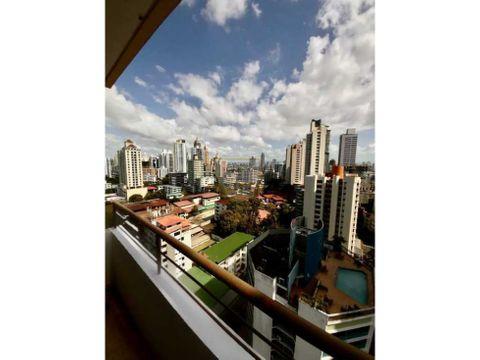 apartamento amplio y remodelado en el cangrejo para venta mf