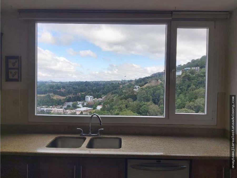 apartamento amplio en renta en san lazaro zona 15